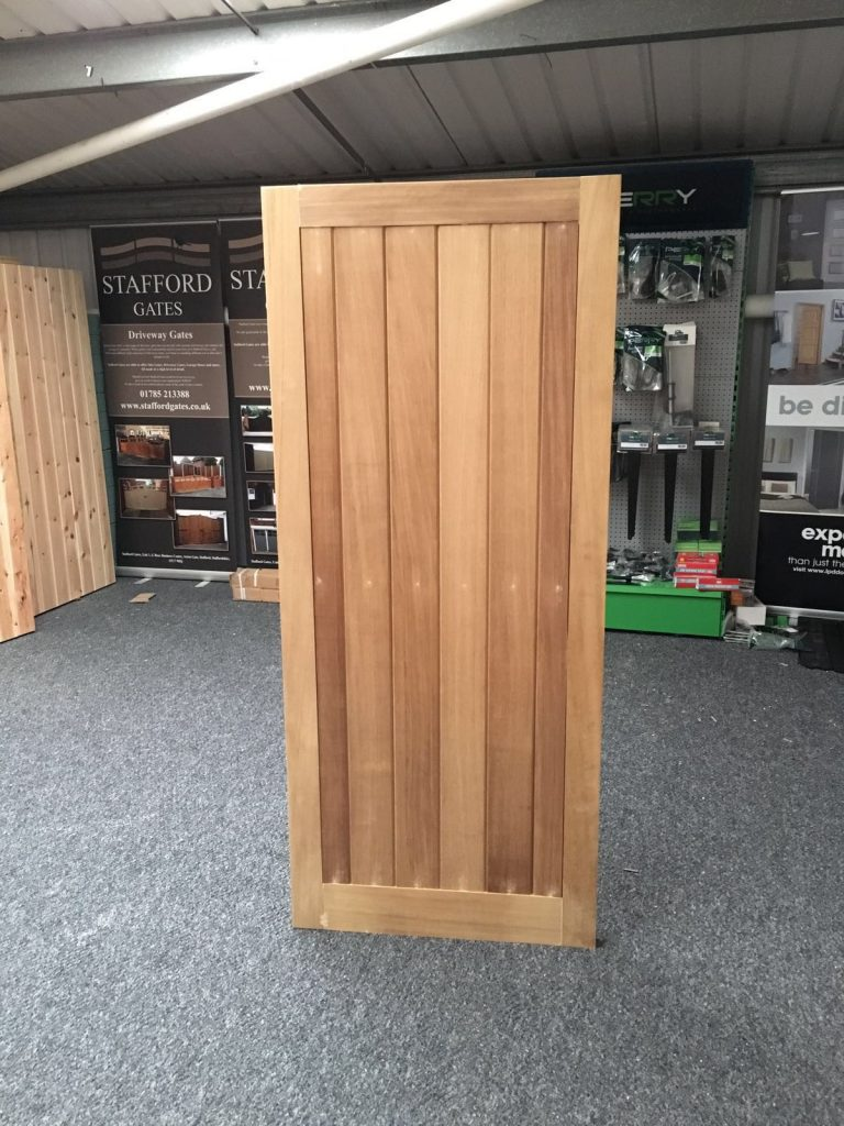 Hardwood FLB Wooden Side Gates
