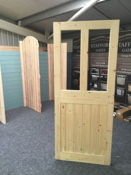 Two Light Stable Wooden Stable Doors