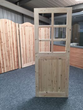6 Light Stable Wooden Stable Doors